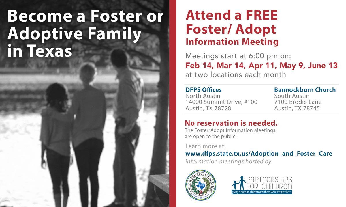ministry coordinator fostering hope austin babysitting certification flyer middot dfps foster care orientation flyer